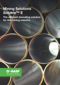 Mining Solutions Solutrix® E The efficient descaling solution for the mining industry